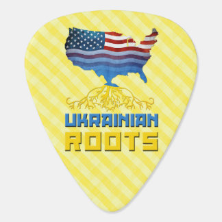 American Ukrainian Roots Guitar Pick