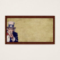 American Uncle Sam- Prim Biz Cards