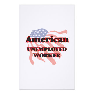 American Unemployed Worker Stationery
