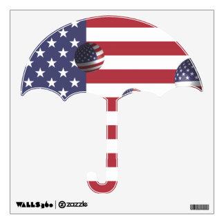 American Universe Wall Sticker