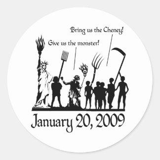 American Uprising Classic Round Sticker