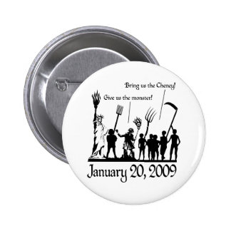 American Uprising Pinback Button