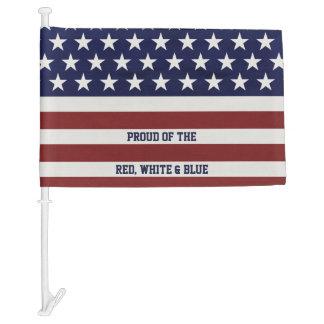 American USA Flag Patriotic July 4th Custom
