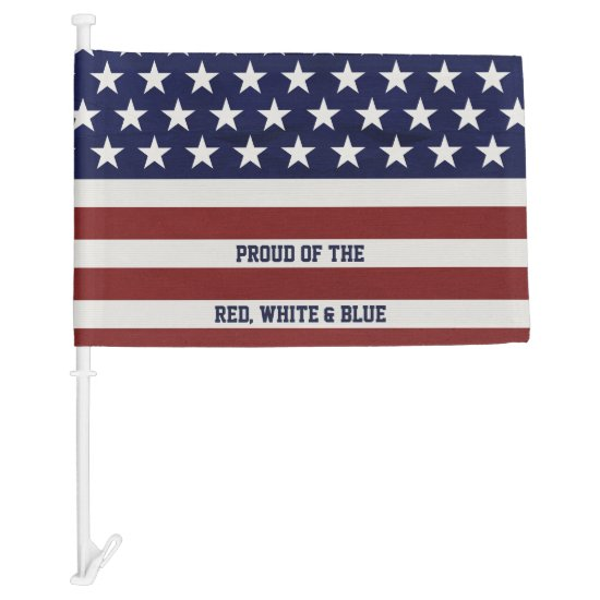 American USA Flag Patriotic July 4th Custom