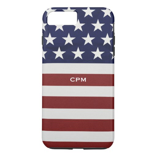 iPhone customize phone cases for iphone 4 : ... USA Flag Patriotic July 4th Custom iPhone 7 Plus Case : Zazzle