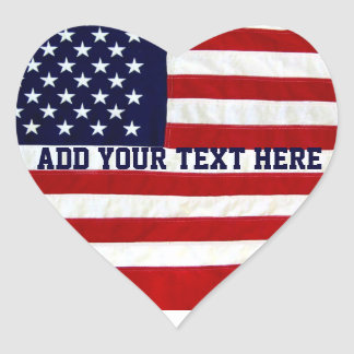 American USA Flag_ Stickers