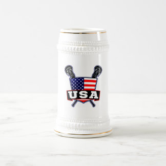 American USA Lacrosse Mugs