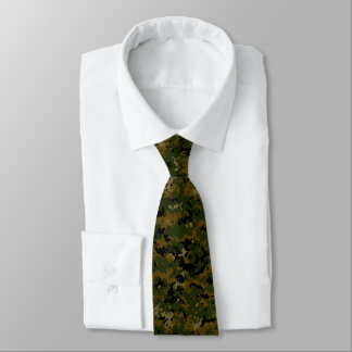 American USMC Woodland Digital Camo Tie