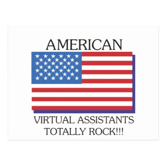 American VA Totally Rock Postcard
