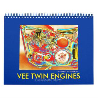 AMERICAN VEE TWIN MOTORCYCLE ENGINES 2012 CALENDAR
