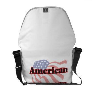 American Ventriloquist Messenger Bags