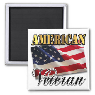 American Veteran Apparel and Gifts Refrigerator Magnets