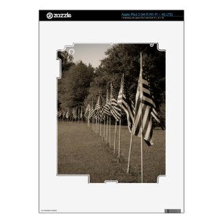 American Veteran Flags iPad 3 Skin