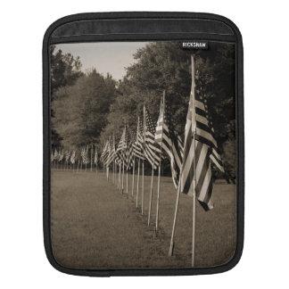 American Veteran Flags iPad Sleeve