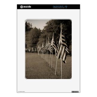 American Veteran Flags Skins For The iPad