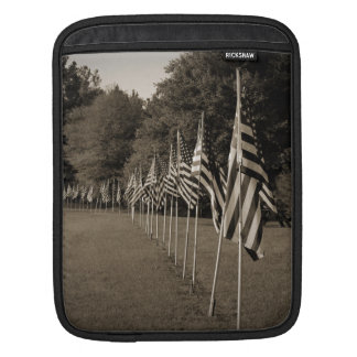 American Veteran Flags Sleeve For iPads