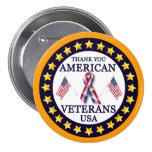 American Veterans 2 Buttons