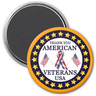 American Veterans 2 Refrigerator Magnets