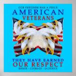 American Veterans Poster