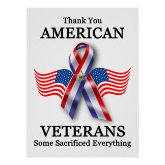 American Veterans: Some Sacrificed Everything! Poster