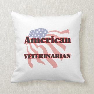 American Veterinarian Throw Pillow