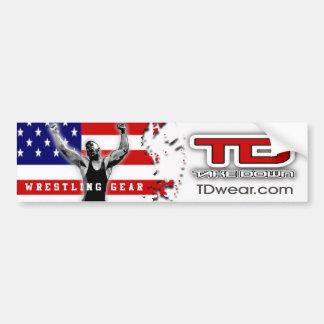 american victory car bumper sticker