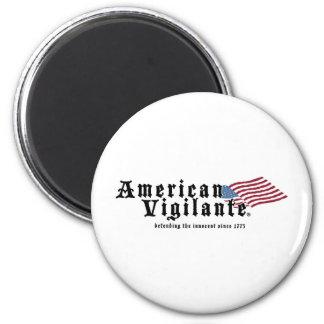 American-Vigilante-Zazzle-300dpi Imán Redondo 5 Cm