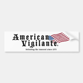 American-Vigilante-Zazzle-300dpi Pegatina Para Auto