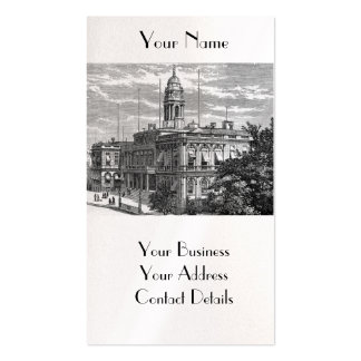 American Vintage New York City Hall Business Card Business Card