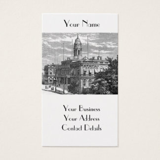 American Vintage New York City Hall Business Card