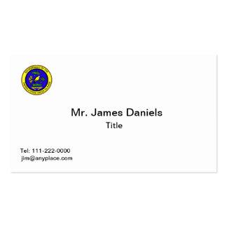 American Virgin Islands COA Business Card