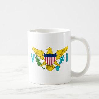 American Virgin Islands VI Coffee Mug