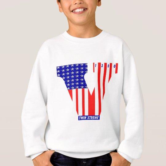 american vtwin flag sweatshirt