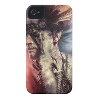 American warrior Indian, chief of the tribe. they iPhone 4 Cover
