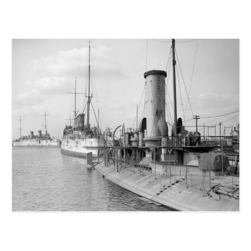 American Warships in Philly, 1910 Post Cards