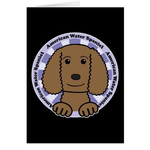 American Water Spaniel Card