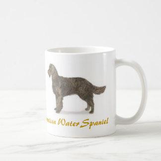 American Water Spaniel, Dog Lover Galore! Classic White Coffee Mug