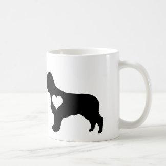 American Water Spaniel Heart Mug