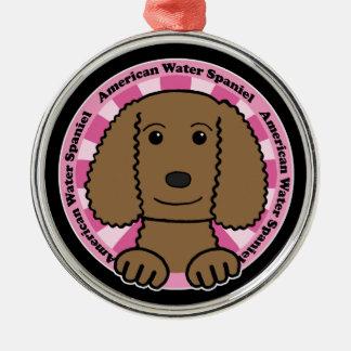 American Water Spaniel Metal Ornament