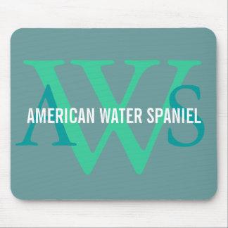 American Water Spaniel Monogram Mousepad