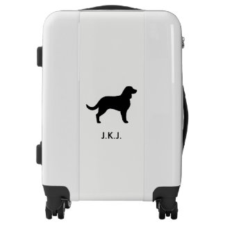 American Water Spaniel Silhouette Luggage