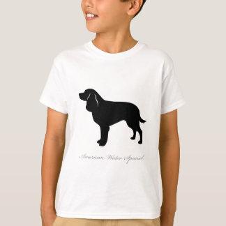 American Water Spaniel silhouette T-Shirt