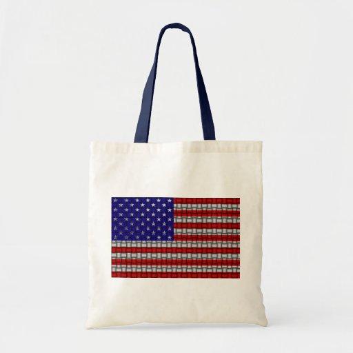American Weave Canvas Bag
