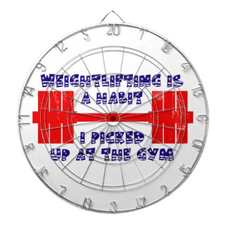 American Weightlifting Habit Dart Boards
