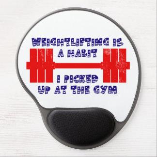 American Weightlifting Habit Gel Mouse Pad
