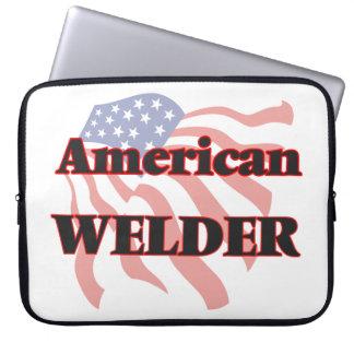 American Welder Laptop Computer Sleeve