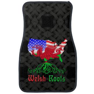 American Welsh Roots Car Mat