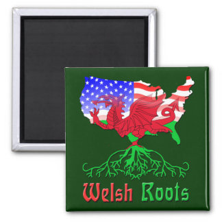 American Welsh Roots Magnet