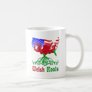 American Welsh Roots Coffee Mug