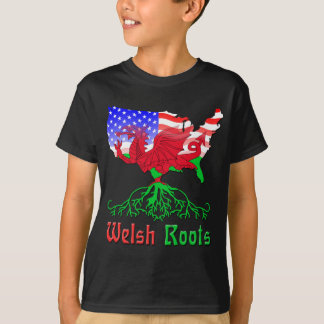 American Welsh Roots T-Shirt
